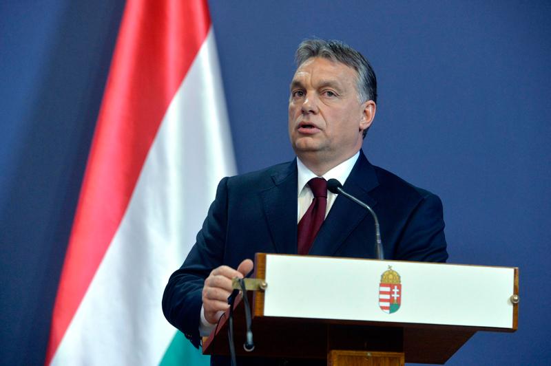 Viktor Orban fot.Szilard Koszticsak/EPA