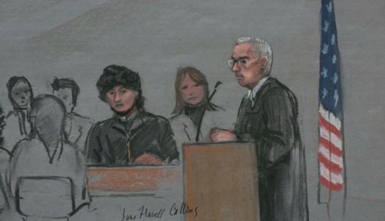 Rozpoczął się proces Carnajewa – zamachowca z Bostonu (ZOBACZ ZDJĘCIA)