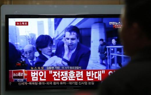 Korea Południowa. Ambasador USA zaatakowany i raniony w Seulu (ZOBACZ ZDJĘCIA)