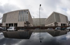 Germany's spy HQ flooded after taps stolen on building site