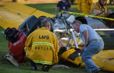 US actor Harrison Ford injured in golf course plane crash