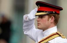 Britian's Prince Harry in Estonia