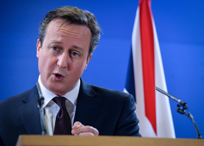 David Cameron fot.Stephanie Lecocq/EPA