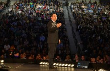 US Senator Ted Cruz announces his presidential candidacy at Liberty University in Virginia