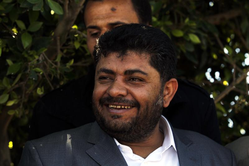 Prezydent Abd Rabu Mansour  fot.Yahya Arhab/EPA