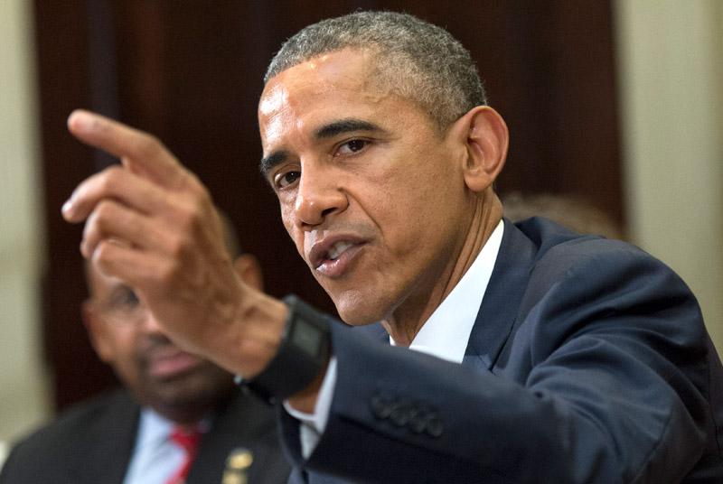 Barack Obama fot.Kevin Dietsch/Pool/EPA