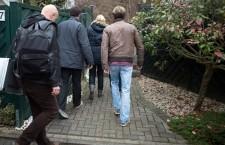 Police investigators search co-pilot house in Duesseldorf