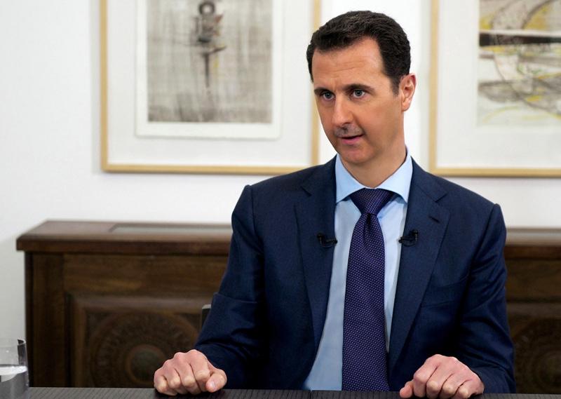 Baszar el-Asad fot.Syrian Arab News Agency/Handout/EPA