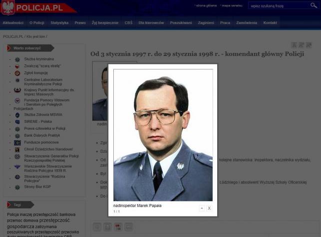 Marek Papała fot.policja.pl