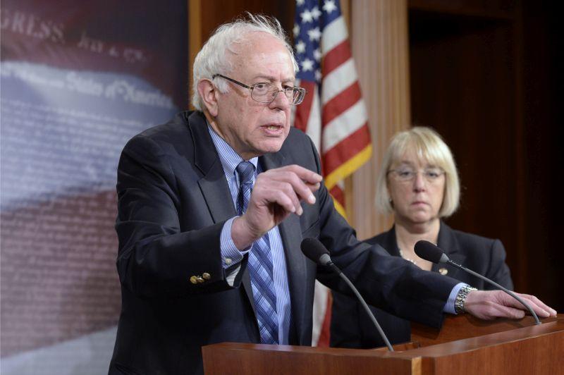 senator Bernie Sanders fot.Michael Reybnolds/EPA