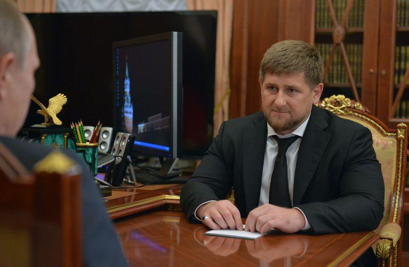 Ramzan Kadyrow fot.Alexei Druzhinin/EPA