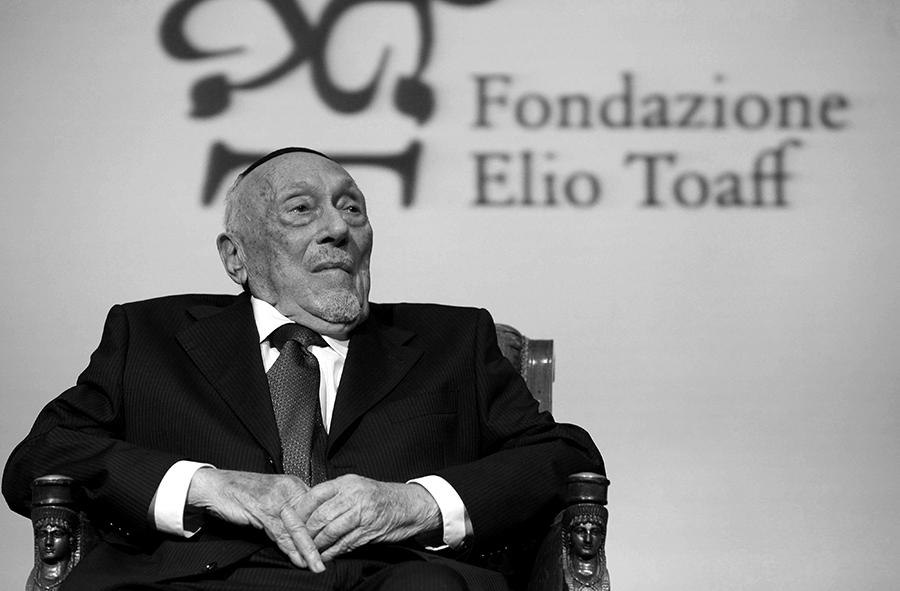 Elio Toaff fot.Alessandro Di Meo/EPA