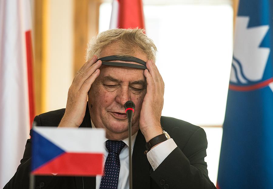 Milosz Zeman fot.Filip Singer/EPA