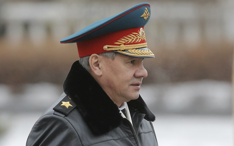 Siergiej Szojgu fot.Maxim Shiphenkov/EPA
