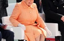 Britannia naming ceremony