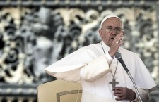 Pope Francis during general audience