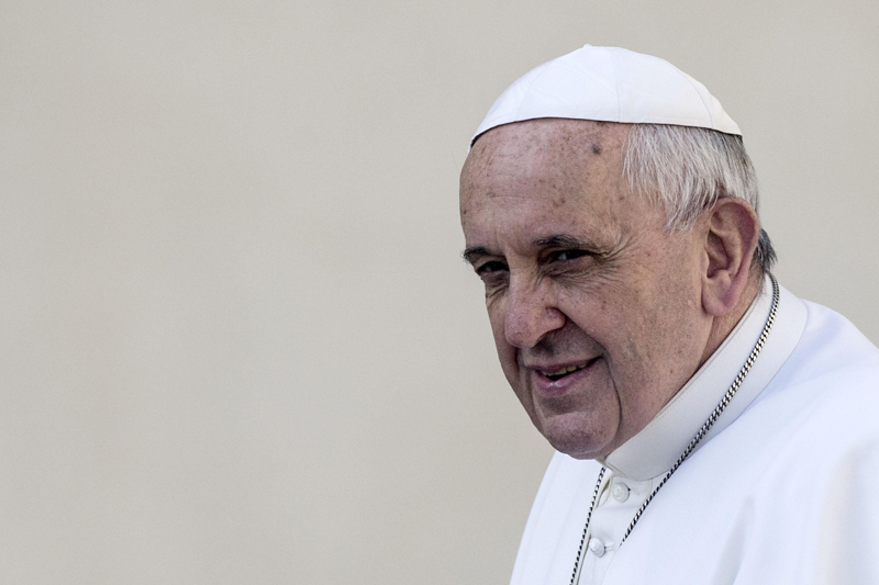 Papież Franciszek fot.Angelo Carconi/EPA