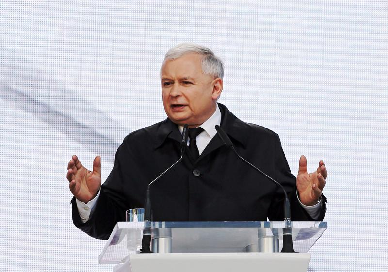 Jarosław Kaczyński fot.Paweł Supernak/EPA
