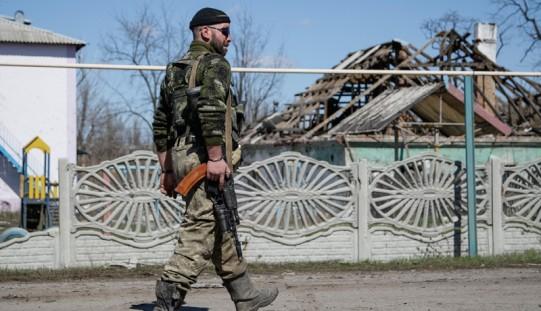 Ukraina. Rok temu zaczęła się operacja przeciwko separatystom (ZDJĘCIA)