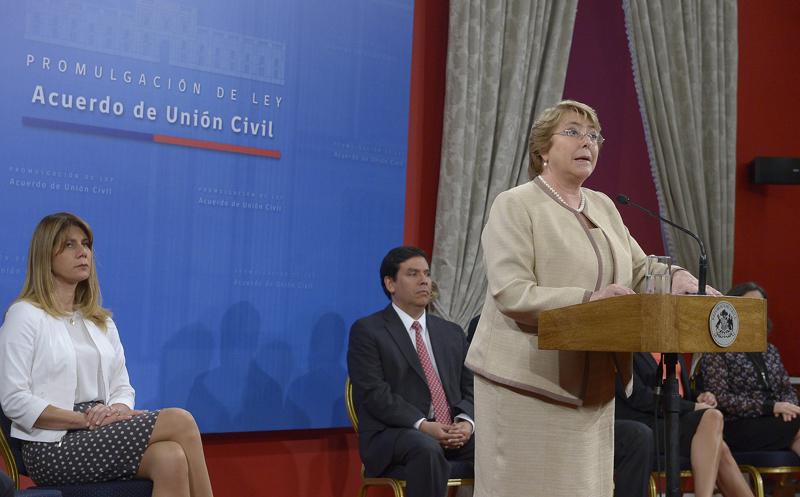 Michelle Bachelet fot.Sebastian Rodriguez/Presidency of Chile/Handout/EPA