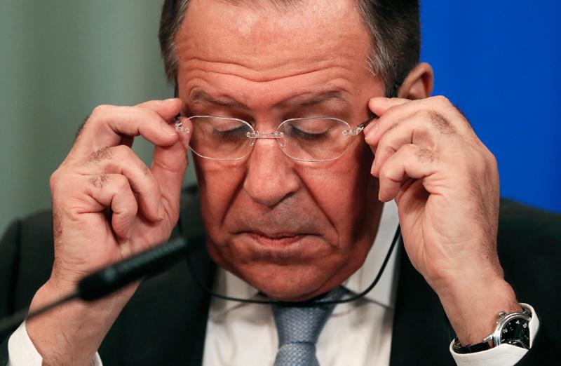 Siergiej Ławrow fot.Yuri Kochetkov/EPA