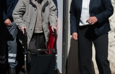 Former SS member and Auschwitz Guard Oskar Groening trial