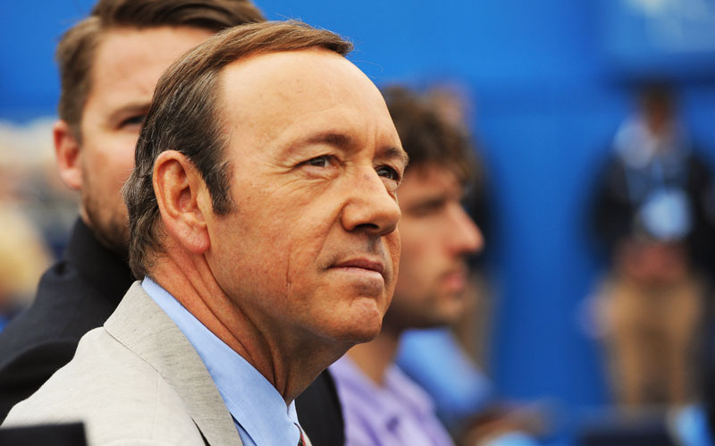 "Gwiazda ""House of Cards"" Kevin Spacey fot. Andy Rain/EPA"