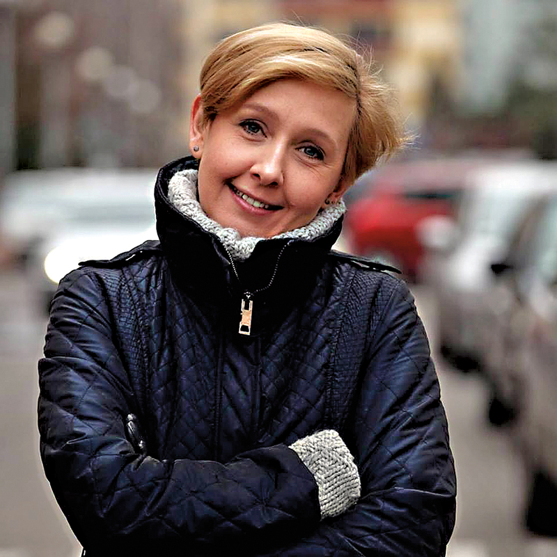 Dr Anna Materska-Sosnowska fot.Facebook