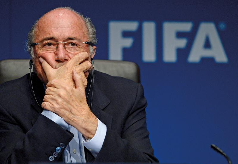 Przewodniczący FIFA Joseph Blatter fot.Steffen Schmidt/EPA