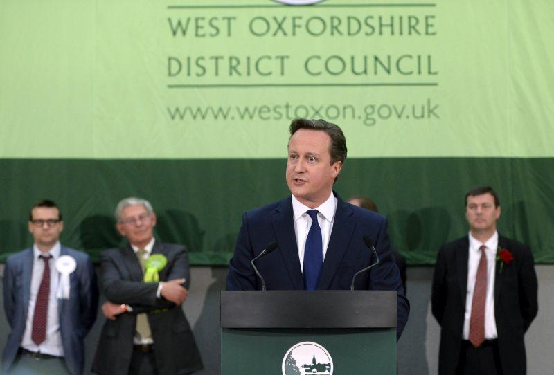 Premier Wiekliej Brytanii David Cameron   fot.EPA