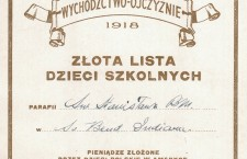 Lista dzieci szkolnych 3 maj 1918