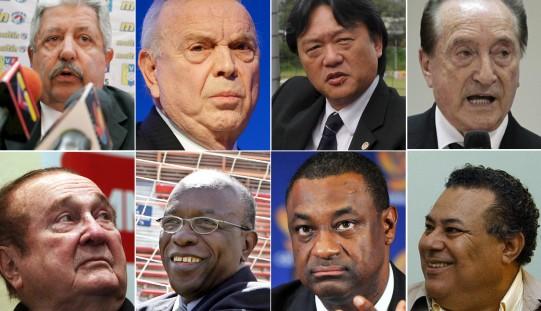 Ujawniono nazwiska zatrzymanych w Zurychu działaczy FIFA