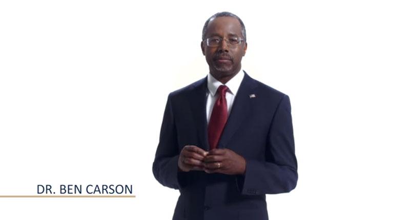 fot. Ben Carson YouTube video