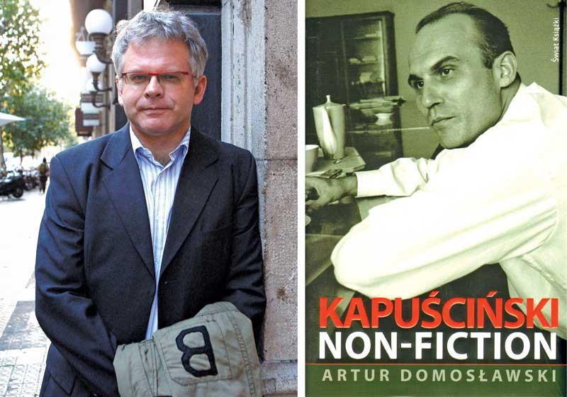 Artur Domosławski (z lewej) fot.Toni Garriga/EPA/Świat Książki