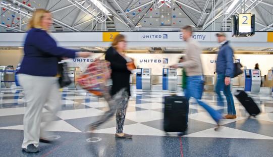 Wzmożony ruch na chicagowskich lotniskach