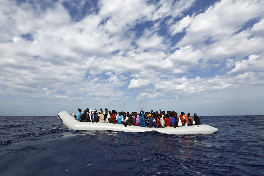 fot.Darrin Zammit Lupi/MOAS.EU/Handout/EPA