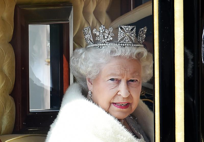 Królowa Elżbieta II fot.Andy Rain/EPA