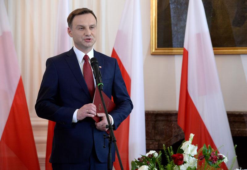 Prezydent elekt Andrzej Duda fot.Jacek Turczyk/EPA
