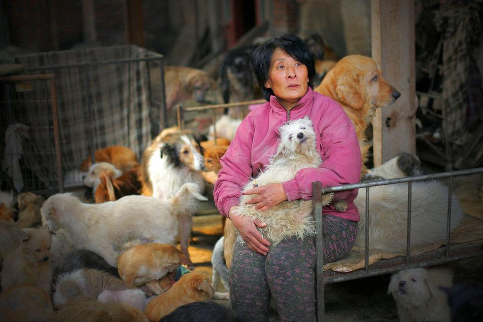 65-letnia Yang Xiaoyun  fot.faclc.blogspot.com