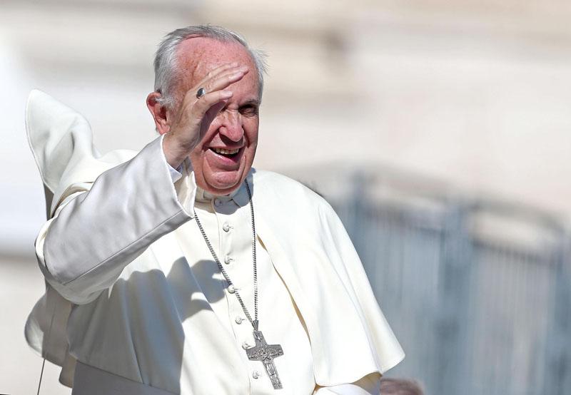 Papież Franciszek fot.Alessandro Di Meo/EPA
