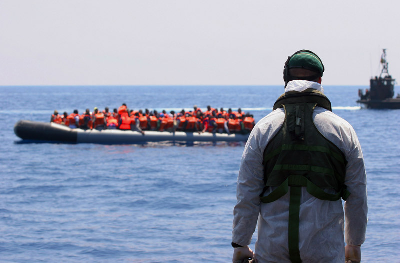 fot.ETWE (CIS) L George/Royal Navy/EPA
