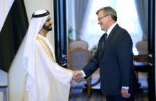 Ruler of Dubai His Highness Sheikh Mohammed bin Rashid Al Maktoum visits Poland