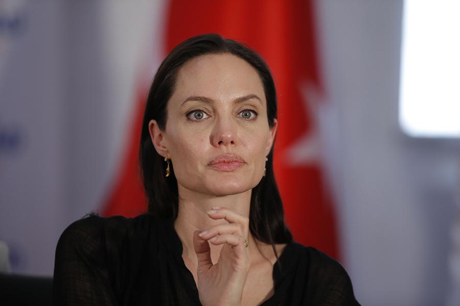 Angelina Jolie fot.STR/EPA