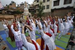 Indie. Miliony ludzi biorą udział w pierwszym Międzynarodowym Dniu Jogi