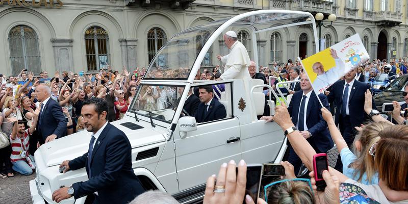 Papież Franciszek fot.Di Marco/EPA