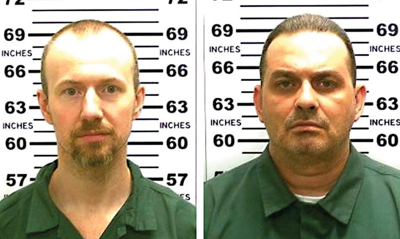 David Sweat (z lewej) i Richard Matt fot.New York State Police/EPA
