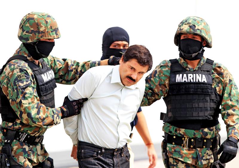 Joaquin Guzman Loera 'El Chapo' fot.Mario Guzman/EPA