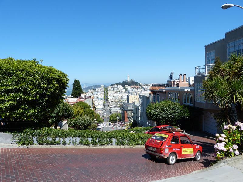 Julek daje radę w San Francisco
