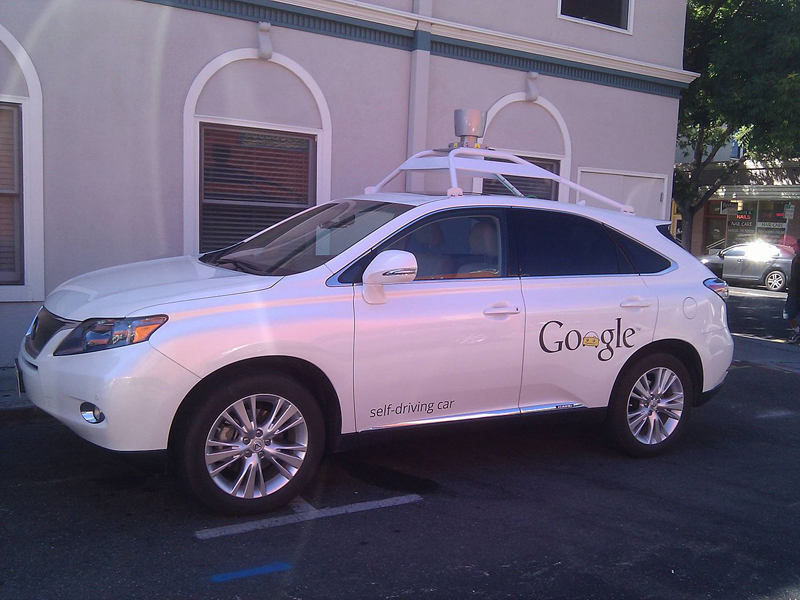 Samochód Google fot.Mark Doliner/Wikipedia