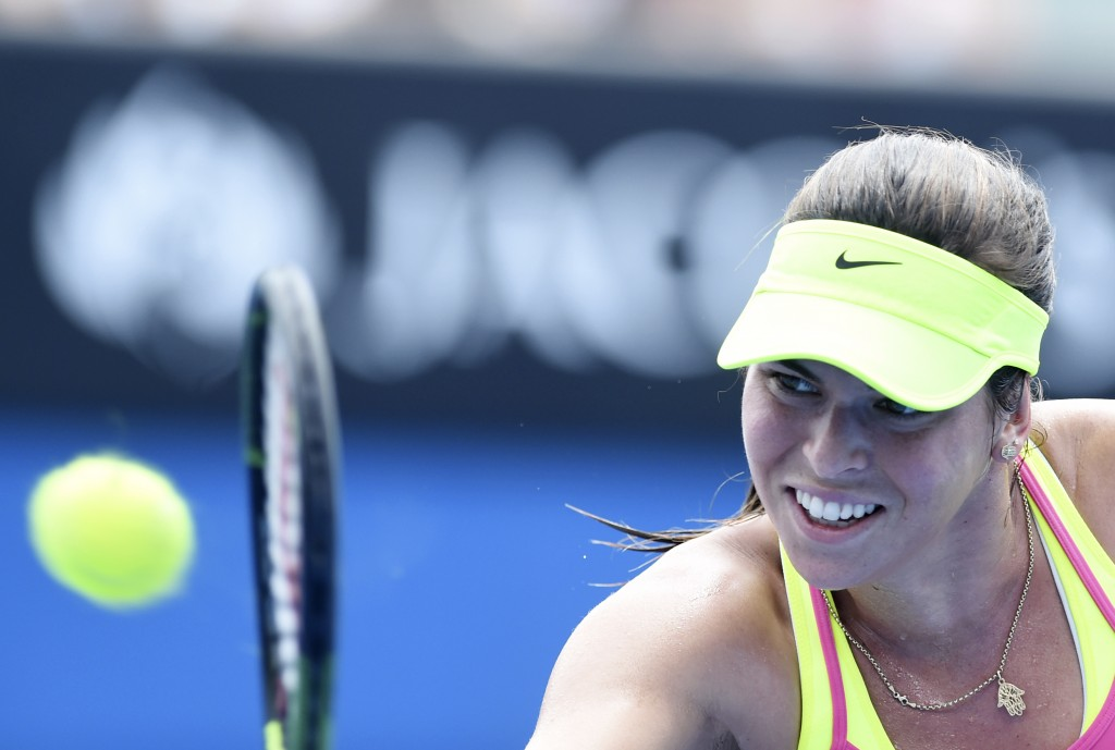Ajla Tomljanovic fot.Julian Smith/EPA
